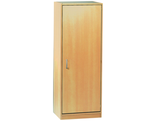 Skříň-sokl-50x140x42cm-dveře pravé-police 3-dekor bříza