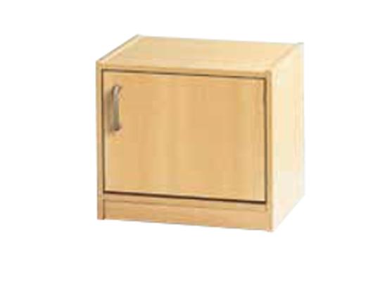 Skříň spodní-sokl-50x46x42-dveře pravé-police 1-dekor buk
