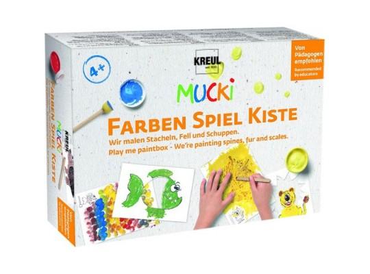 Barvy prstové Mucki-box malířský