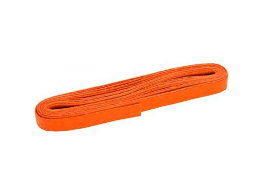 Filc proužek-oranžový