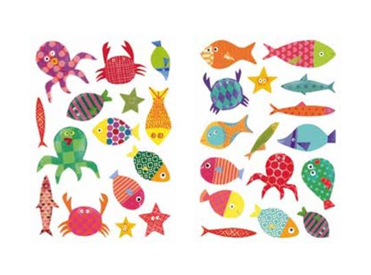 Samolepky ryby