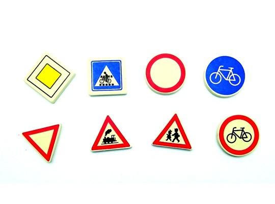Pryž gumovací-značka dopravní