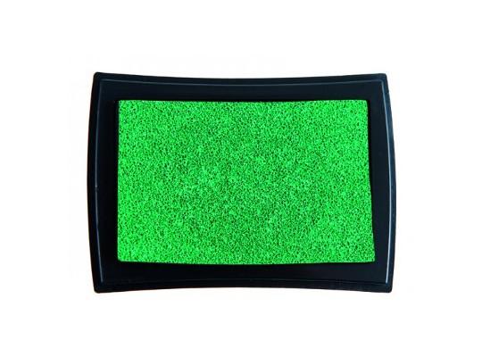Polštářek razítkovací na textil-zelená
