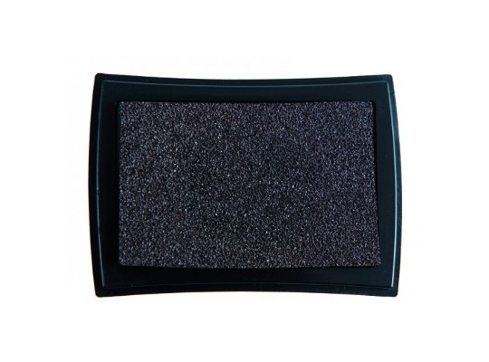 Polštářek razítkovací na textil-černá