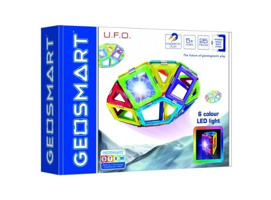 Stavebnice magnetická-GeoSmart UFO