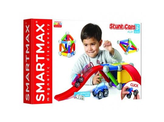 Stavebnice magnetická-Smartmax Basic silnice