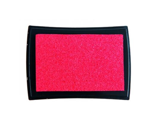 Polštářek razítkovací na textil-červená
