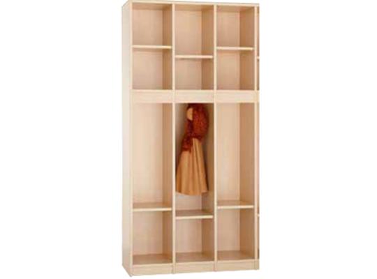 Šatna-skříň S390-dekor bříza