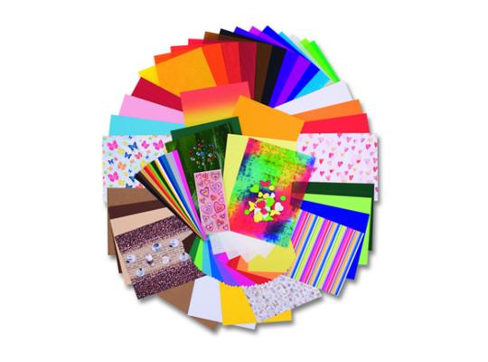 Kreativní sada papírů 322 dílů