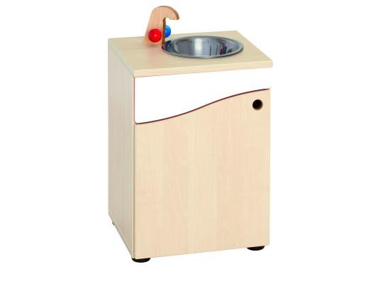 Prvek herní-Kuchyň dětská-dřez-40x55x38cm-dveře levé-dekor bříza