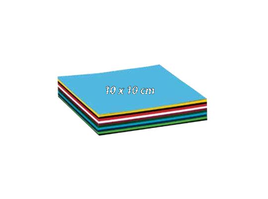 Papír barevný 10x10cm
