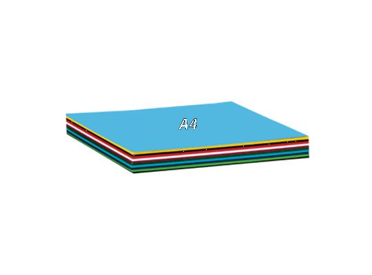 Papír barevný A4 (100)