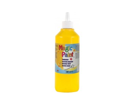 Barva Magic Paint 500ml-žlutá