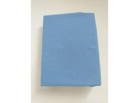 Prostěradlo dětské-120x60cm-modrá