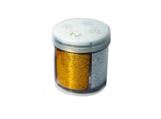 Prášek třpytivý-4 barvy