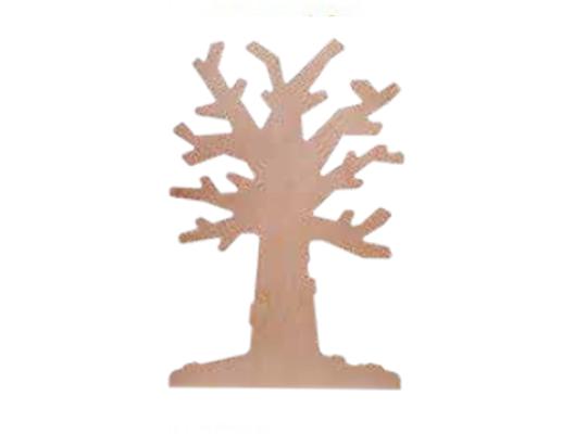 Strom dřevěný na zeď listnatý