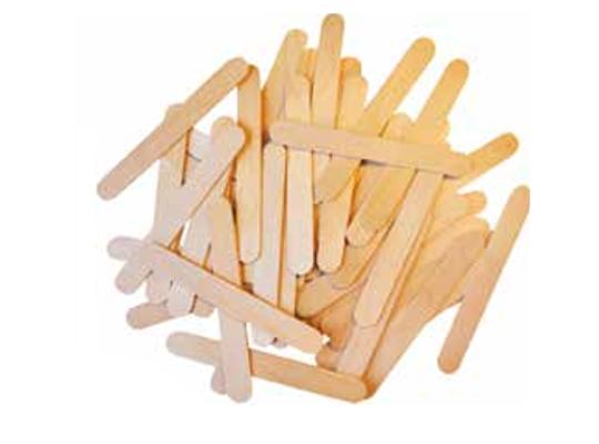 Špachtle dřevěné široké-přírodní
