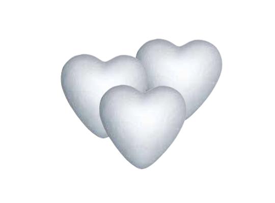 Polystyrenové srdce