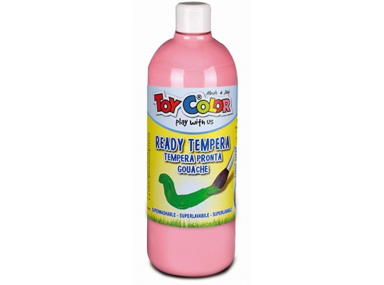 Barva temperová Toy Color 1000ml-růžová