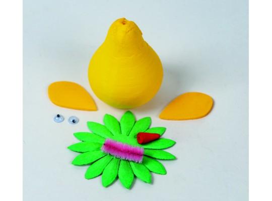 Sada kreativní vatová-kuře