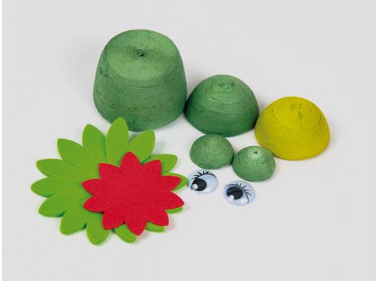 Sada kreativní vatová-žába
