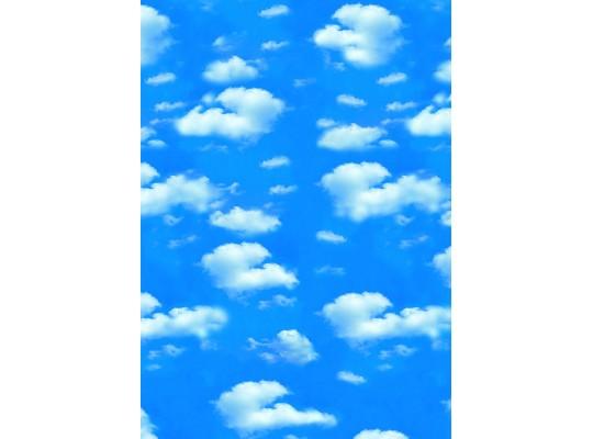 Papír transparentní 23x33cm-mraky