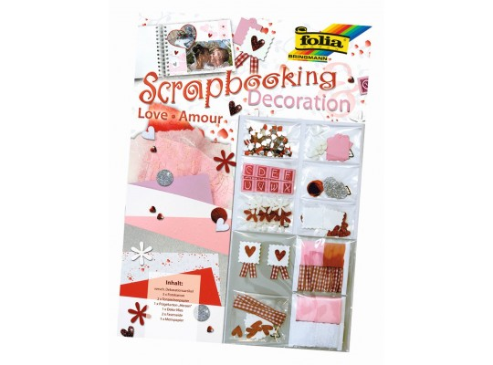 Scrapbooking-set Láska