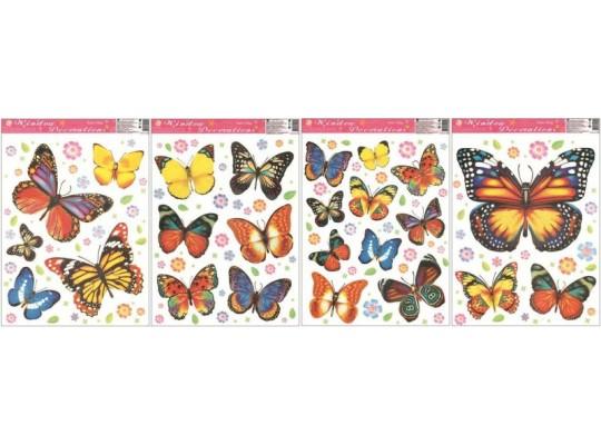 Fólie okenní-motýli