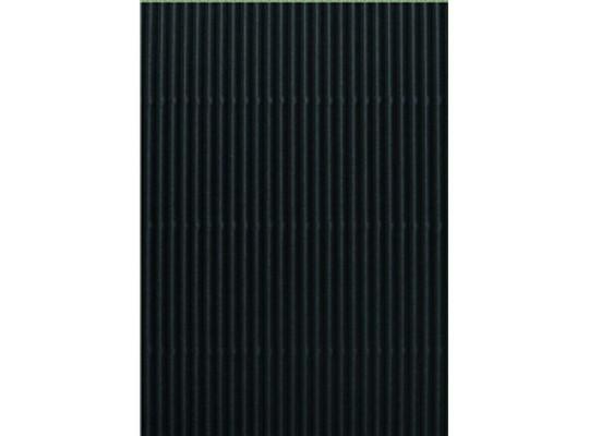 Lepenka vlnitá 50x70cm-černá