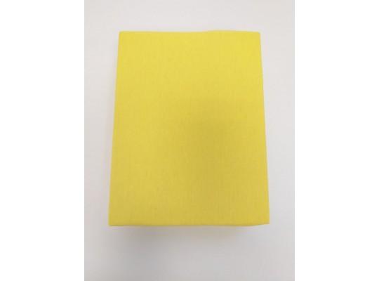 Prostěradlo dětské-120x60cm-žlutá
