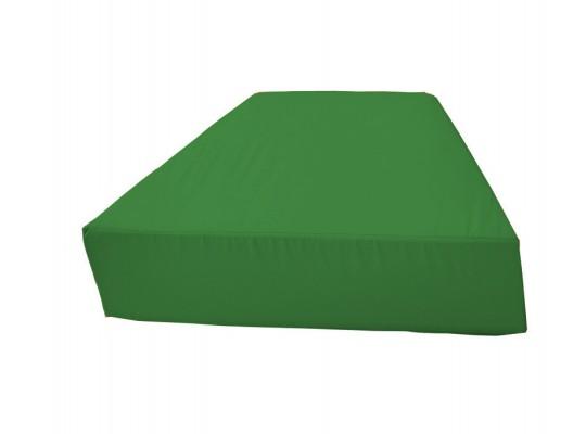 Sedací souprava lichoběžník bez opěradla Ramon-tmavě zelená