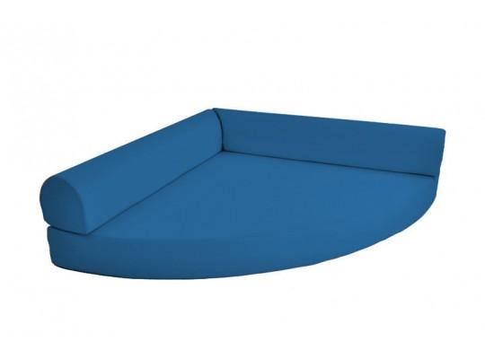 Relaxační sedací kout Ramon-světle modrá