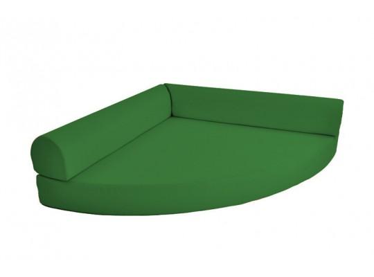 Relaxační sedací kout Ramon-tmavě zelená