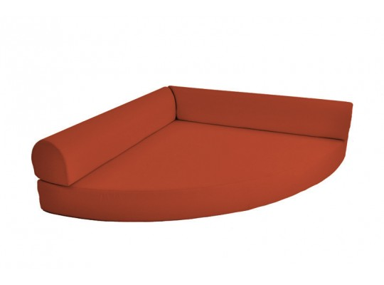 Relaxační sedací kout Ramon-tmavě oranžová