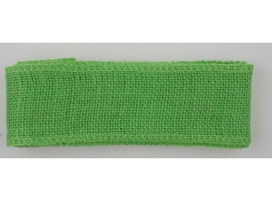 Stuha jutová zelená