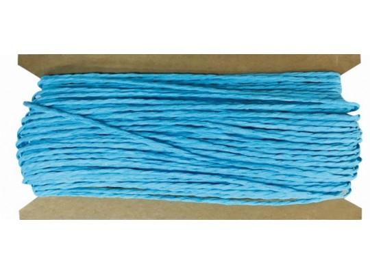 Provázek papírový modrý