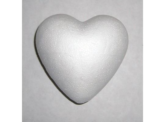 Srdce polystyrenové velké