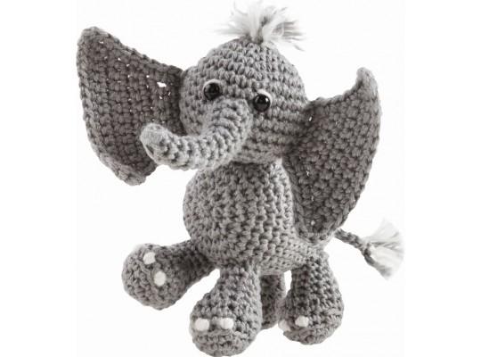 Sada na háčkování-slon