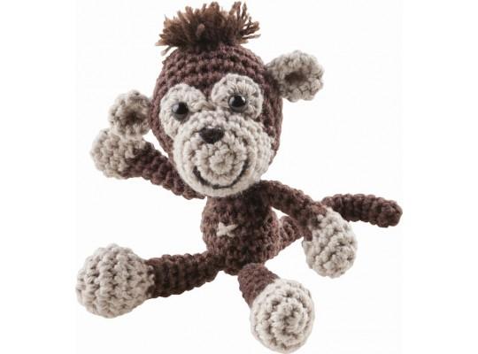 Sada na háčkování-opice