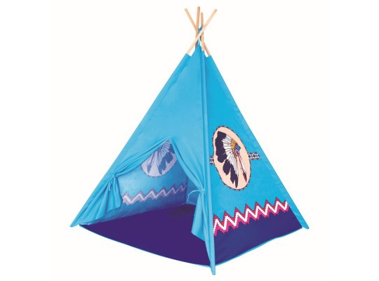 Stan dětský TeePee-modrý
