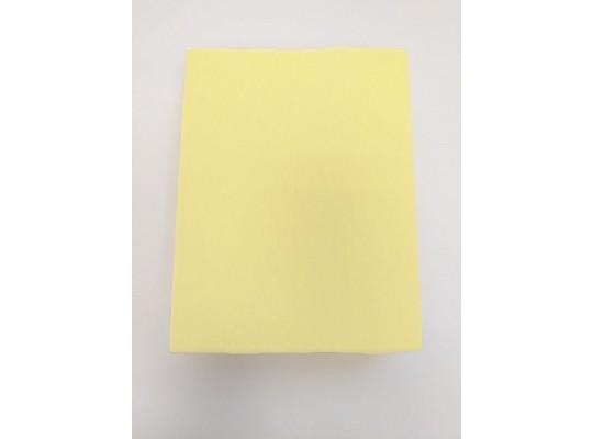 Prostěradlo dětské-120x60cm-žlutá světlá