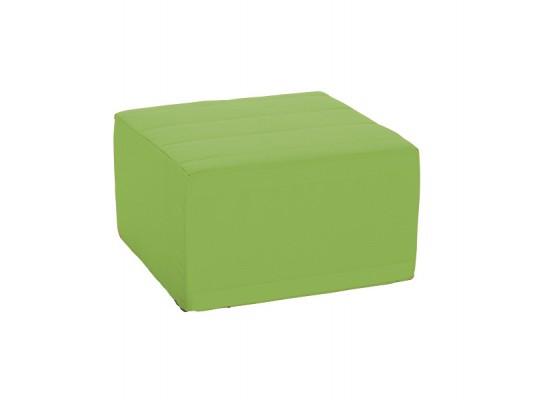 Sedací souprava velká čtvercová část bez opěradla Ramon-světle zelená