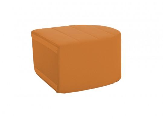 Sedací souprava velká koncová část bez opěradla Ramon-světle oranžová