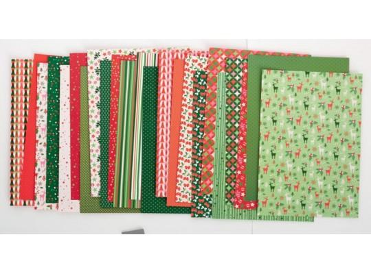 Karton dekorační - motivy vánoční