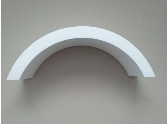 Svícen polystyrenový-výřez dekorační