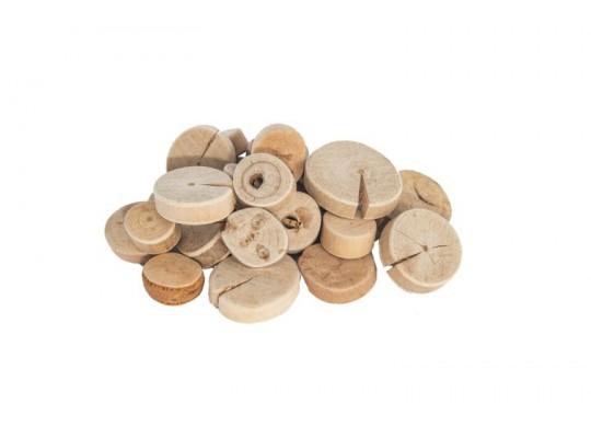 Dřevo naplavené-kolečko-velké