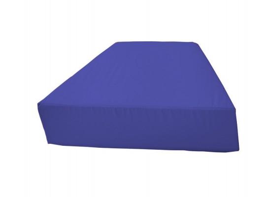 Sedací souprava lichoběžník bez opěradla Ramon-tmavě modrá