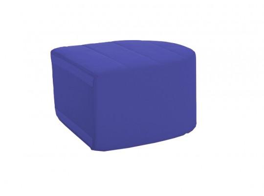 Sedací souprava velká koncová část bez opěradla Ramon-tmavě modrá