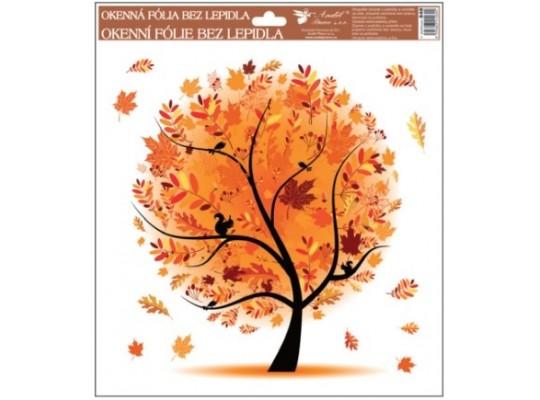 Fólie okenní-roční období-podzim