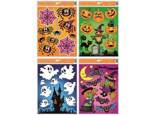 Fólie okenní s glitry-Halloween